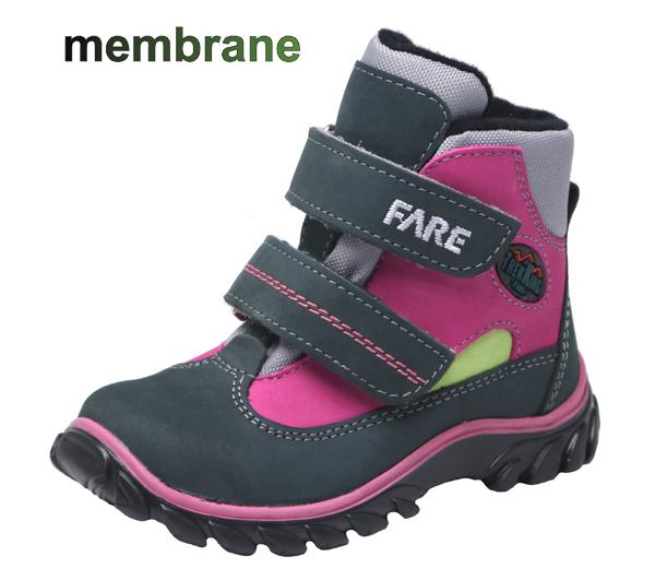 Dětské celoroční trekové boty s membránou - Fare - 827254 empty 87d3140550